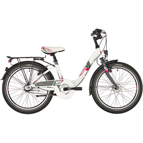 s'cool chiX 20 3-S Steel Kids white/red